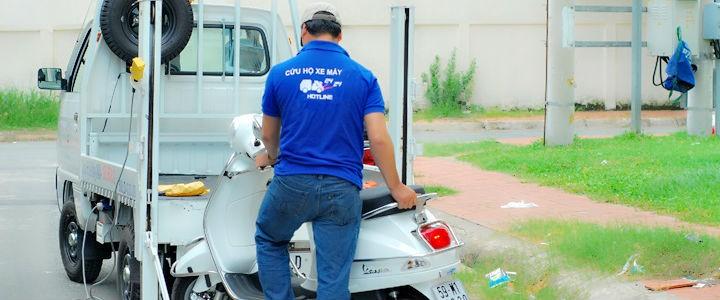 Cứu hộ xe máy, sửa chữa xe máy toàn quốc