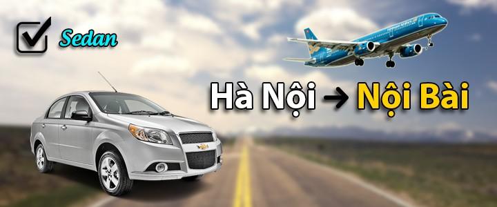 195k: Xe 5 chỗ sedan, tiễn Hà Nội - Nội Bài