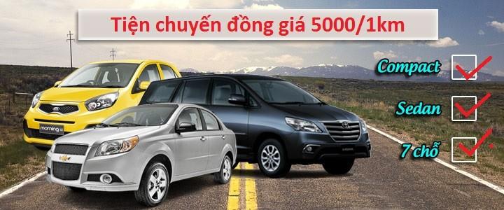 Tiện chuyến đồng giá 5000/km