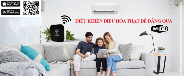 Lắp điều khiển điều hòa PamHome qua wifi