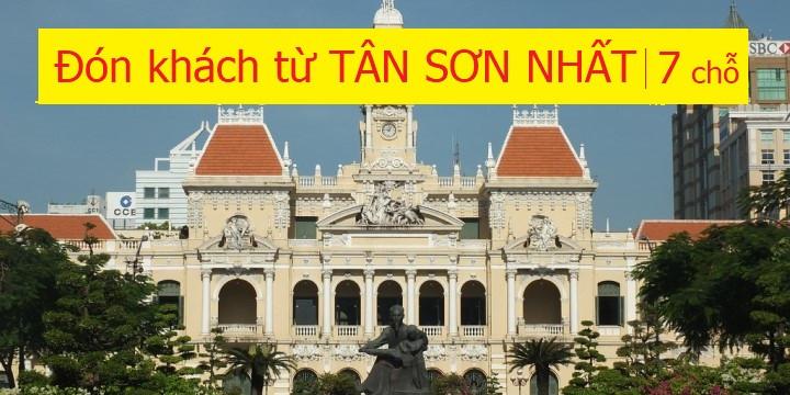 Xe 7 chỗ, Đón khách từ sân bay Tân Sơn Nhất
