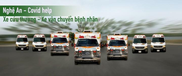 Nghệ An - Xe cứu thương, xe chở bệnh nhân